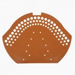 Dekiel boczny kalenicy PVC